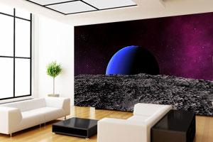 3d tapete svemir za zid stampa tapeta
