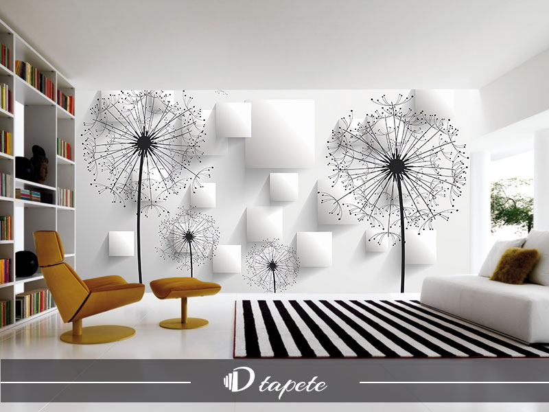 3d tapete abstraktne maslacak stampa 3d tapeta