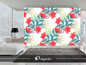 cvetne tapete, izrada cvetnih tapeta , štampa cvetne tapete za zid
