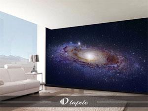 tapete svemira, izrada tapete svemira, štampa foto tapete svemira za zid