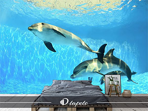 tapete vodeni svet, izrada tapete vodeni svet, štampa foto tapete vodeni svet za zid