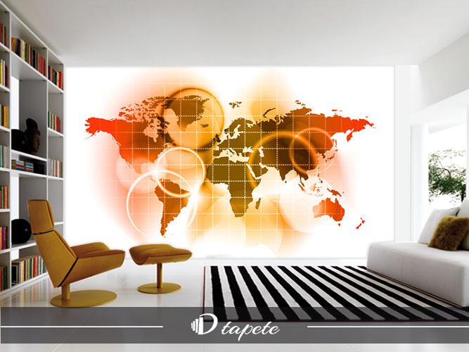 tapet mapa sveta karta sveta apstraktna